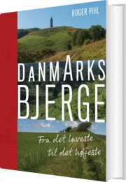 danmarks bjerge - bog