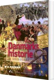 danmarks historie - i grundtræk - bog