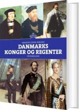danmarks konger og regenter - bog