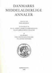 danmarks middelalderlige annaler - bog