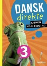 dansk direkte 3 lærervejledning - bog
