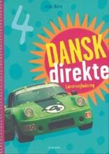 dansk direkte 4 lærervejledning - bog