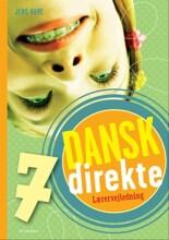 dansk direkte 7 lærervejledning - bog