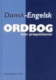 dansk-engelsk ordbog over præpositioner - bog