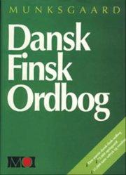 dansk-finsk ordbog - bog