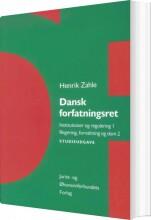 dansk forfatningsret - studieudgave - bog