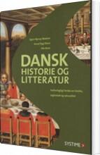 dansk historie og litteratur - bog