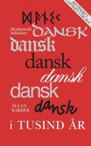 dansk i tusind år - bog