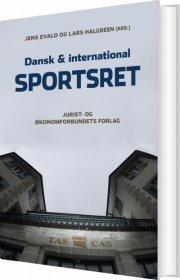 dansk og international sportsret - bog