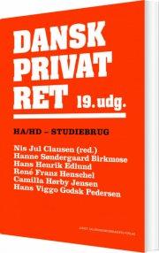 dansk privatret ha og hd - bog