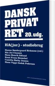 Billede af Dansk Privatret - 20. Udgave - Ha-jur. - Camilla Hørby Jensen - Bog