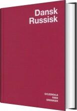 dansk-russisk ordbog - bog