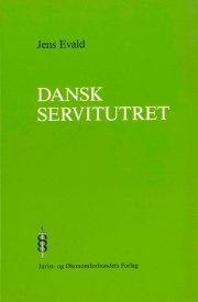dansk servitutret - bog