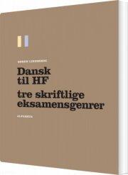 dansk til hf - bog