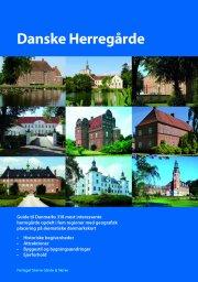 danske herregårde - bog
