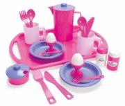 legemad fra dantoy - morgenmadssæt - for my little princess - Rolleleg