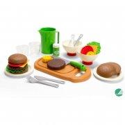 dantoy legemad - burger sæt - Rolleleg