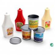 dantoy legemad - ketchup, søde majs, bønner - Rolleleg
