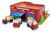 dantoy legetøjsgarage - brandstation - Køretøjer Og Fly