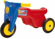 dantoy plastik scooter - rød - Udendørs Leg