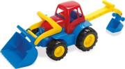 traktor legetøj fra dantoy med rendegraver - Udendørs Leg
