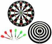 dartspil / dartskive m/6 pile - Brætspil