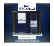 gaveæske: david beckham classic blue edt 40 ml & deospray 75 ml - Parfume