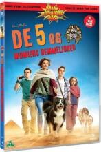 de 5 og mumiens hemmelighed - DVD