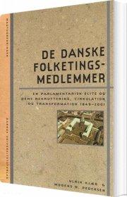 de danske folketingsmedlemmer - bog