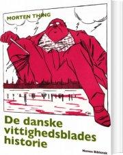 de danske vittighedsblades historie - bog