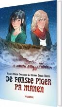 de første piger på månen - bog