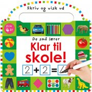 klar til skole - de små lærer - bog