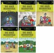 læs-lix: de små monstre  - Sampak 1-5