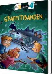 de tre måske fire 4 - graffitibanden - bog