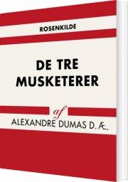 de tre musketerer - bog