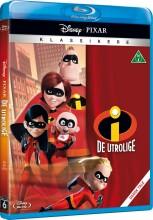the incredibles / de utrolige - disney pixar - Blu-Ray