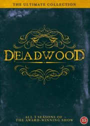 Deadwood - Den Komplette Serie - Sæson 1-3 - Hbo - DVD - Tv-serie
