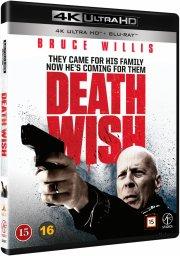 death wish - en mand ser rødt - 4k Ultra HD Blu-Ray