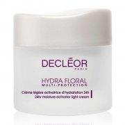 decleor - hydra floral 24hr hydrating light cream 50 ml - Hudpleje