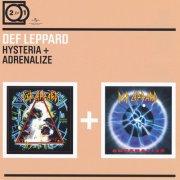def leppard - 2 for 1: hysteria / adrenalize [dobbelt-cd] - cd