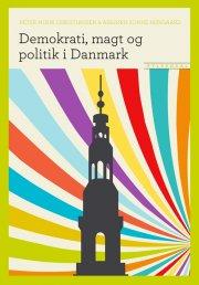 demokrati, magt og politik i danmark - bog