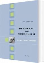 demokrati og uddannelse - bog