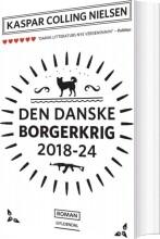 den danske borgerkrig 2018-24 - bog