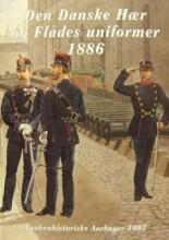 den danske hær og flådes uniformer 1886 - bog