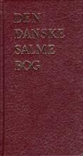 den danske salmebog - kirkesalmebog rød nyt omslag - bog