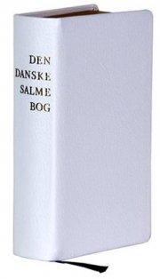 den danske salmebog - konfirmandsalmebog hvid - gammel udgave - bog