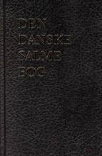 den danske salmebog - magnaprint sort kunstlæder - bog