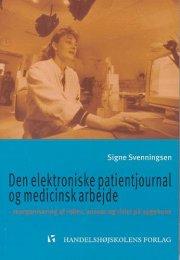 den elektroniske patientjournal - bog