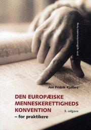 den europæiske menneskerettighedskonvention - bog