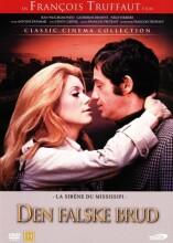 den falske brud / la sirène du mississipi - DVD